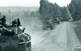 יחידת טנקים במלחמת ששת הימים