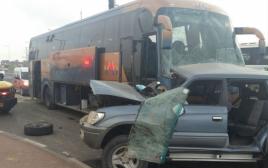 תאונת דרכים - צומת להבים
