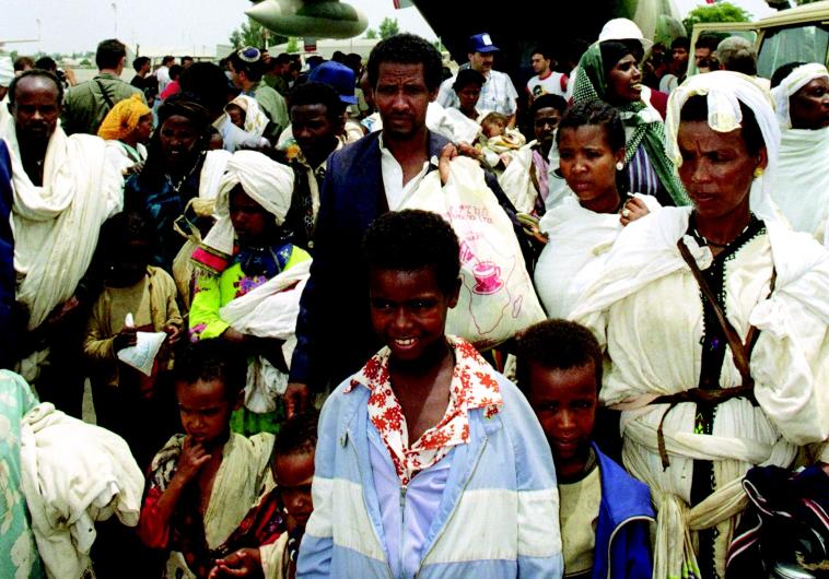 נחיתת עולי אתיופיה בישראל במבצע שלמה