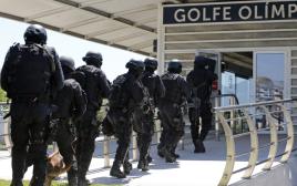 תרגיל של הכוחות המיוחדים של ברזיל לקראת המשחקים האולימפיים