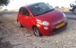 הרכב הפוגע בתאונה