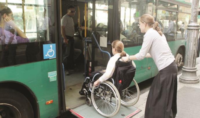 אוטובוס נגיש לאנשים עם מוגבלויות, ארכיון (למצולמות אין קשר לנאמר בכתבה)