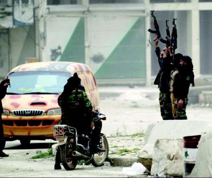 כוחות מורדים בצפון סוריה