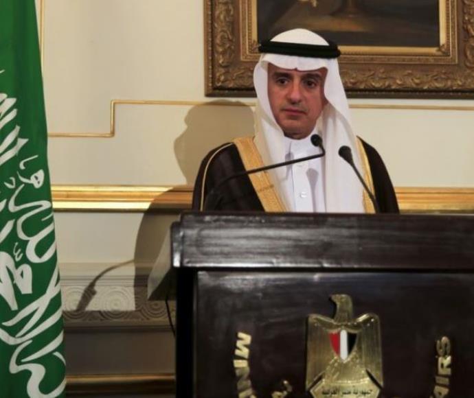 שר החוץ הסעודי אל ג'ובייר