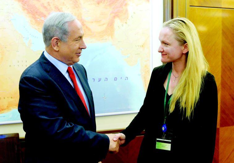 פגישת ראש הממשלה בנימין נתניהו עם מנכלית קרן ויקימדיה העולמית לילה טרטיקוב