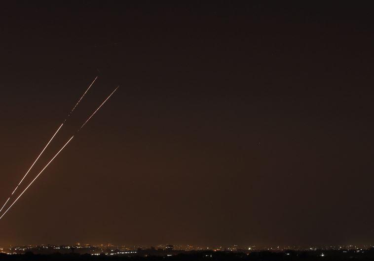 שיגור טילים מרצועת עזה