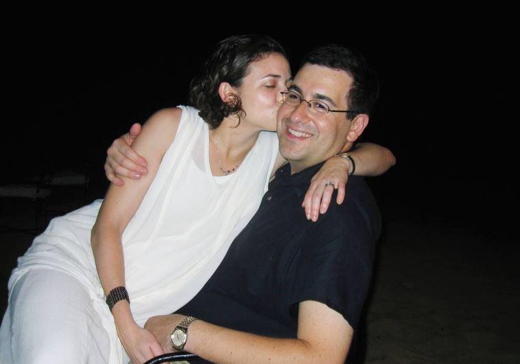 שריל סנדברג ובעלה מנוח דייב גולדברג
