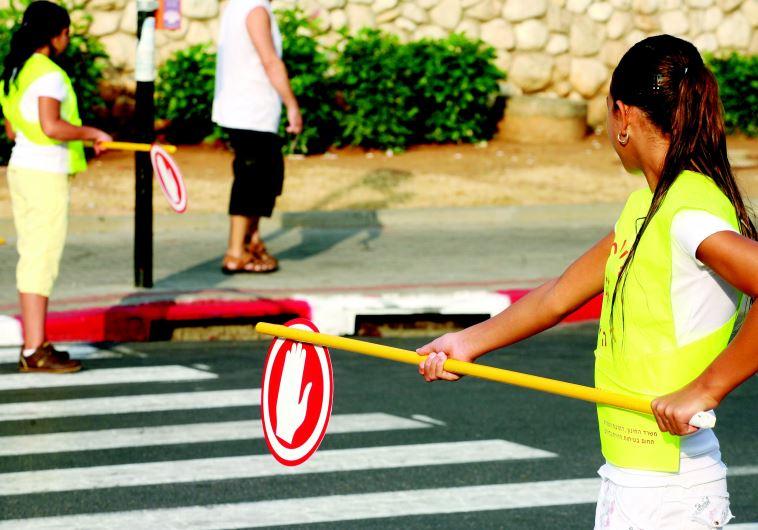 """מעבר חצייה סמוך לבית ספר. """"אסור להפקיר את בטיחות הילדים"""""""