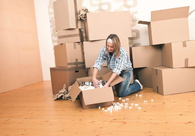 כאשר רוצים להתחדש צריך לדעת לשחרר. מעבר דירה