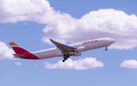 מטוס של חברת איבריה
