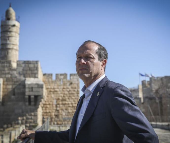 ראש עיריית ירושלים ניר ברקת