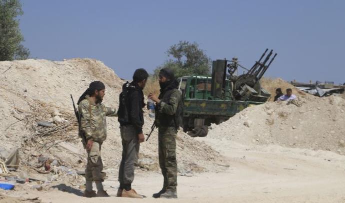 מורדים במחוז אידליב בסוריה
