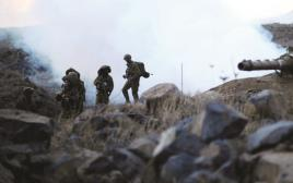 """הכוחות המיוחדים של צה""""ל בתרגיל"""
