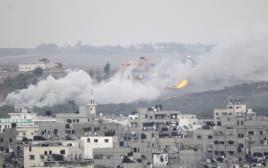 תקיפה ישראלית ברצועת עזה