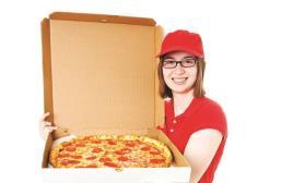 שליחת פיצה, אילוסטרציה