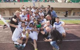 נבחרת אמני ישראל בכדורגל זוכה בגביע ברוסיה