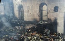 שריפה בכנסיית הלחם והדגים