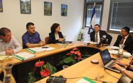 ישיבת וועדת האתיקה של הכנסת