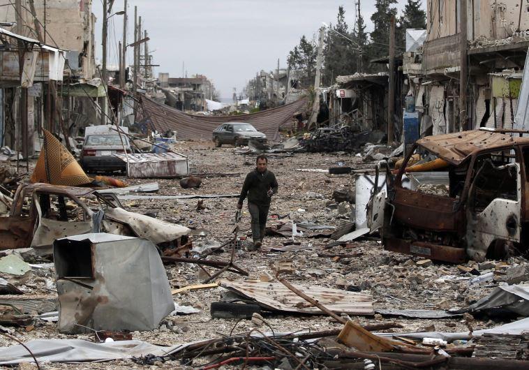 העיר קובאני בצפון סוריה