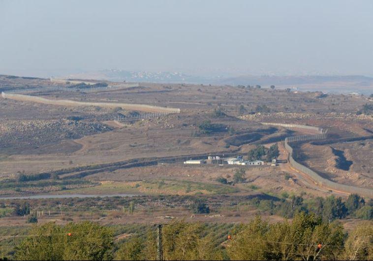 גבול ישראל סוריה. צילום: פלאש 90