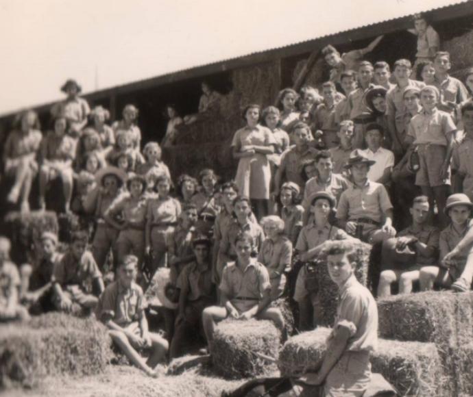 גדוד צופים ניר עין השופט 1941