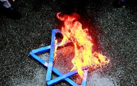שריפת מגן דוד