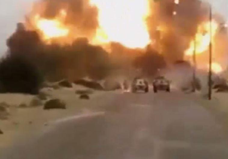 תמונה של הפיגוע בסיני
