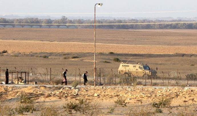 גבול ישראל מצרים, ארכיון
