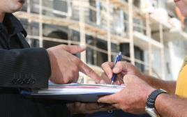אילוסטרציה: חתימה על הסכם, משכנתה, משלוח