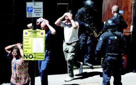 התרגיל ללוחמה בטרור בלונדון