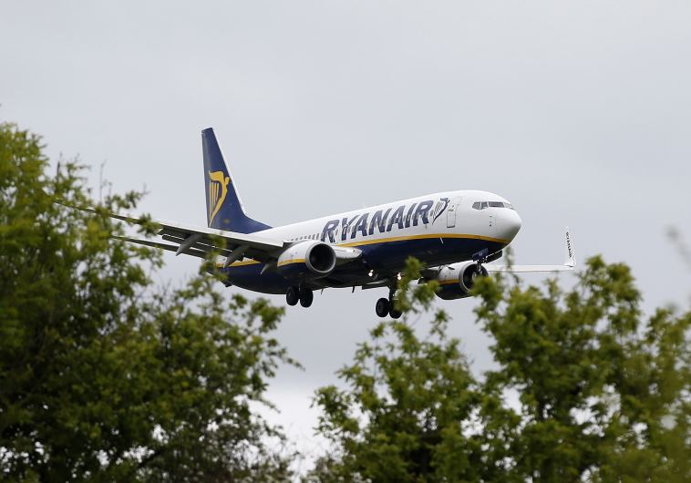 מטוס של ריינאייר צילום: רויטרס