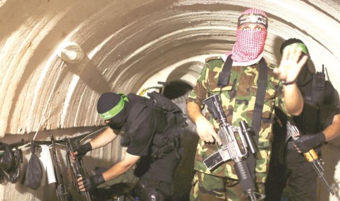 מנהרת טרור של חמאס