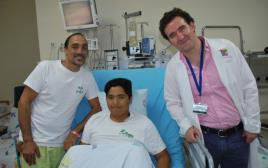 השתלת אונת כבד בבית החולים שניידר