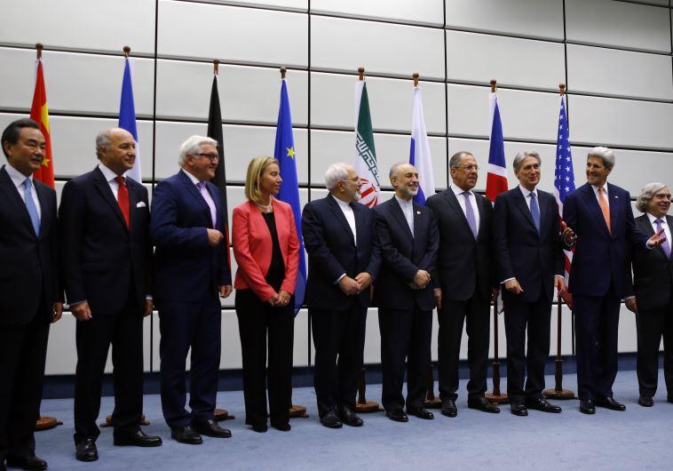 שרי החוץ של המעצמות ואיראן בווינה
