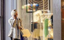 אופנה שופינג קניות בגדים