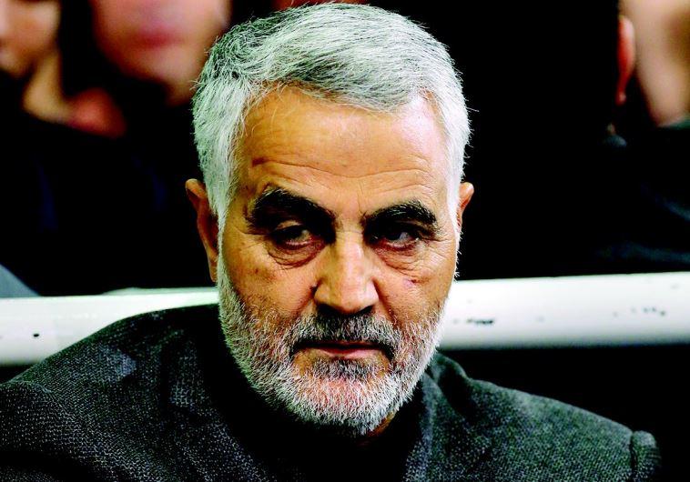 קאסם סולימאני, מפקד כח אל-קודס במשמרות המהפכה. צילום: רויטרס
