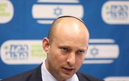 נפתלי בנט בישיבת סיעת הבית היהודי