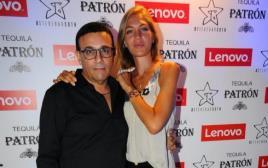 רוני מאנה ואשתו ג'ני צרוואני
