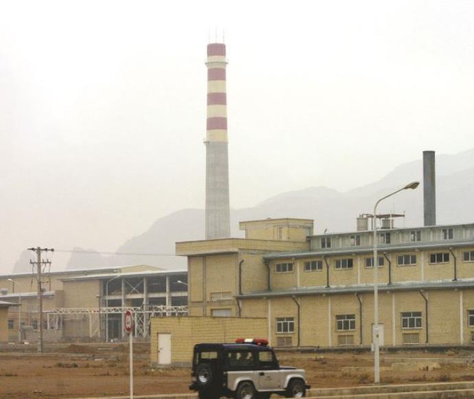 הכור בנתנז, איראן