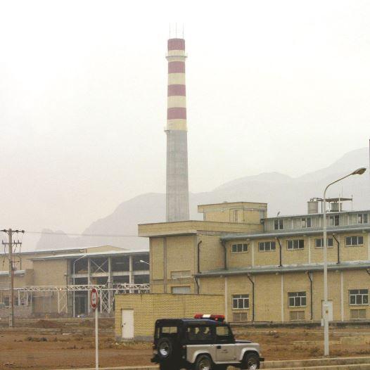 הכור בנתנז, איראן (צילום: רויטרס)