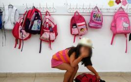 התעללות בילדים. למצולמת אין קשר לכתבה