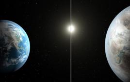 הדמייה של כוכב הלכת החדש קפלר