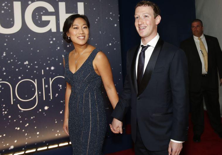 מארק צוקרברג ואשתו פריסיליה