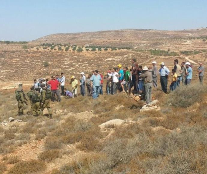 עימותים בין מתנחלים לפלסטינים באש קודש