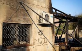 הבית שנשרף בכפר דומא