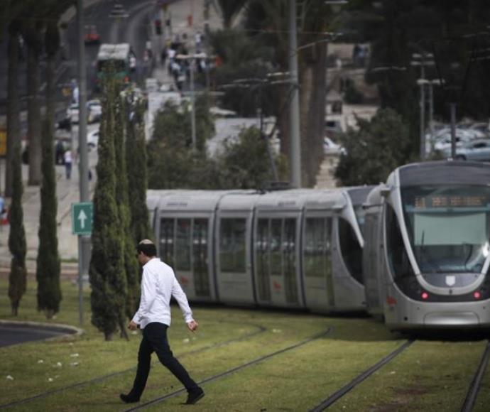 הרכבת הקלה בירושלים