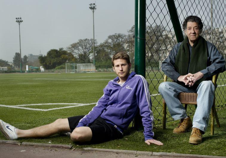 ליאור ייני עם בנו שרן (צילום: רלי אברהמי)