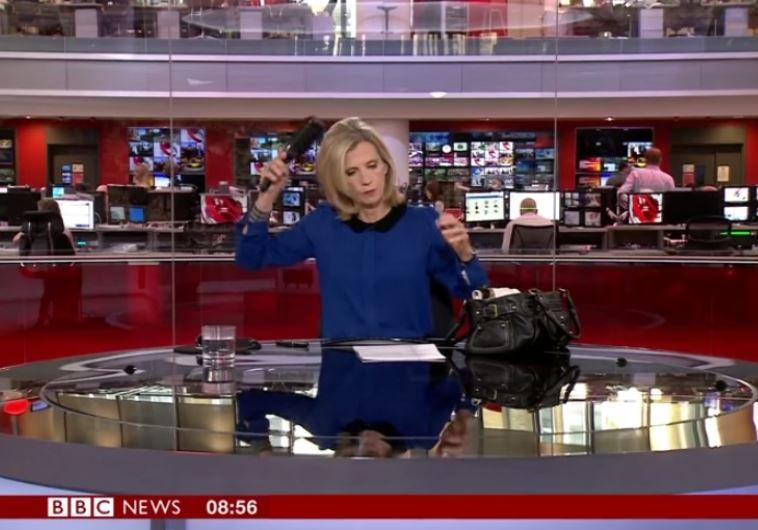 קרול ווקר מסתרקת ב-BBC