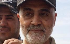 קאסם סולימאני, ראש גדודי קודס במשמרות המהפכה האיראניים