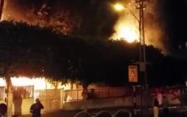 שריפה בראשון לציון